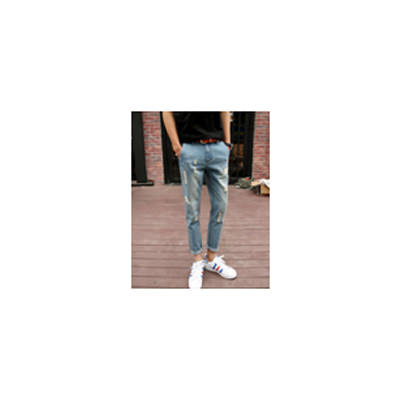Men Light Blue Slim Fit Jeans MJ-DTG_016