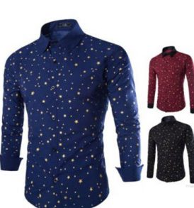 Men Dotted Shirt MS-SCI_041