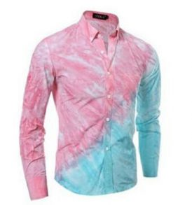 Men Double Coloured Shirt MS-SCI_044
