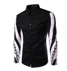 Men Black Shirt MS-SCI_046