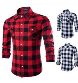 Men Checkered Shirt MS-SCI_047