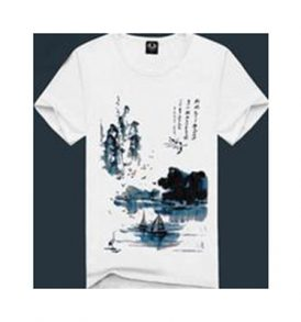 Men White Graphic T-shirt MT-ZGA_004