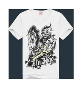 Men White Graphic T-shirt MT-ZGA_020