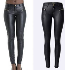Women Plain Black Jeans