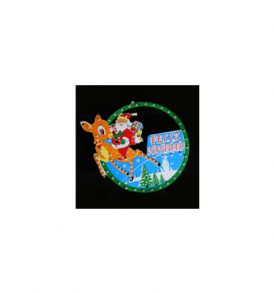 Deer And Santa 75 LED Santa Claus Christmas Lights CLD-LCL-SC_005