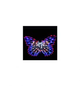 Butterfly 91 LED Santa Claus Christmas Lights CLD-LCL-SC_015