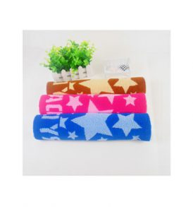 100% cotton Jacquard Five-Pointed Star Floor Towel HB-BA_PFT731-59R